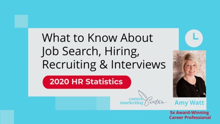 2020 HR Statistics: What to Know About Job Search, Hiring, Recruiting & Interviews