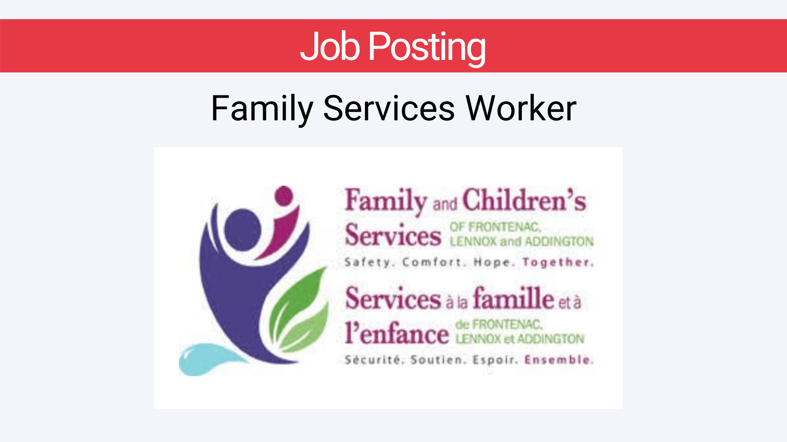 Family Services Worker